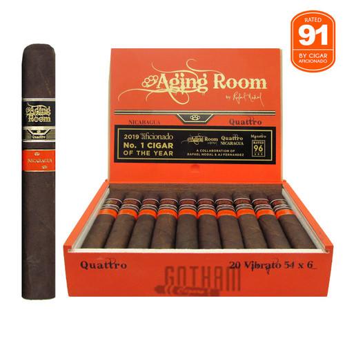 Aging Room Quattro Nicaragua Vibrato open box and stick