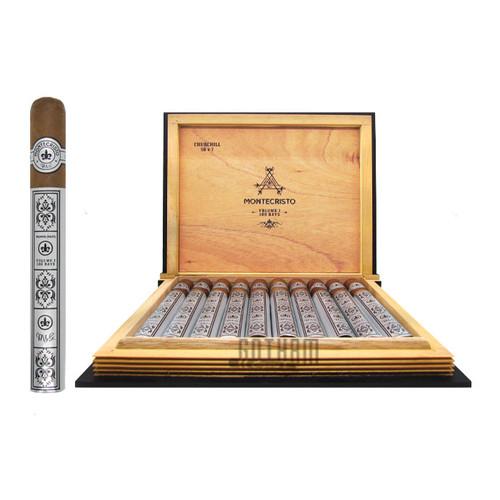 Montecristo Volume 1: 100 Days Churchill open box and stick