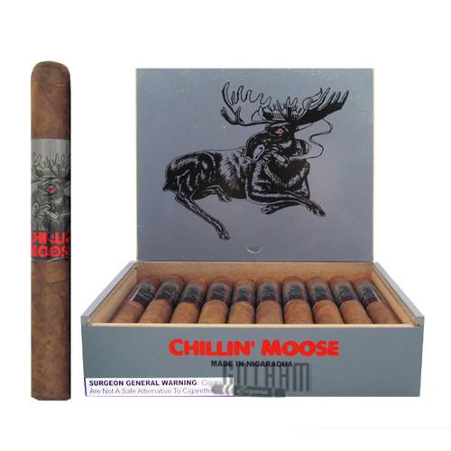 Chillin Moose Corona open box and stick