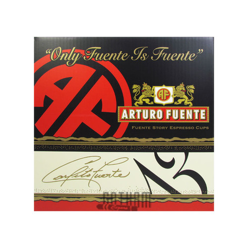 Arturo Fuente Hands of Time Espresso Cups Box