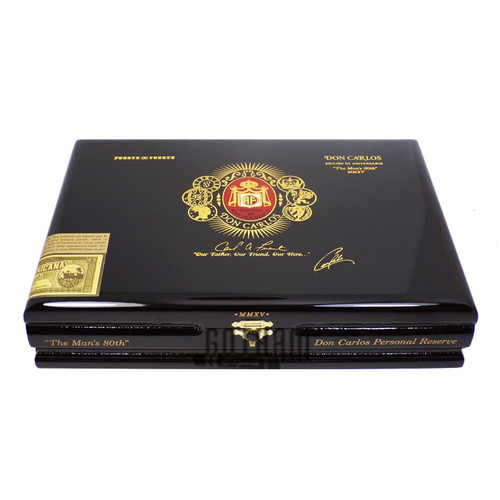 """Don Carlos Personal Reserve """"The Man's 80th"""" Box"""