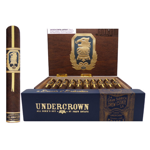 Undercrown 10 Robusto open box and stick