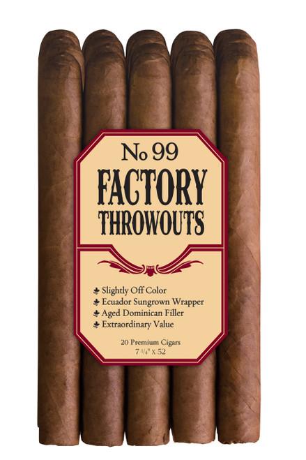 Factory Throwouts No.99 Natural Bundle