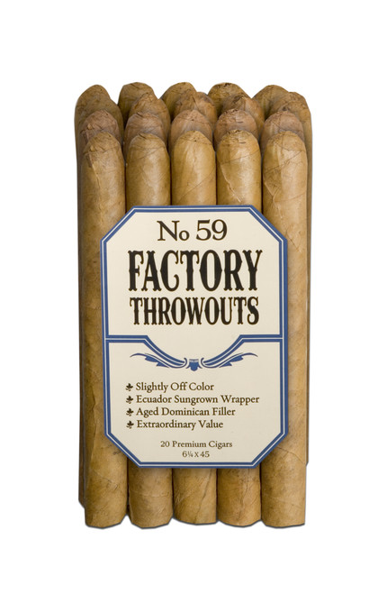Factory Throwouts No.59 Natural Bundle