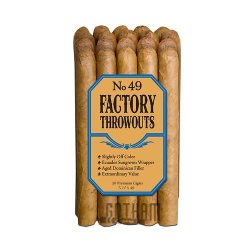Factory Throwouts No.49 Natural