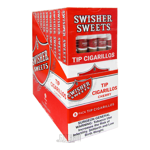 Swisher Sweets Tip Cigarillos Cherry Pack