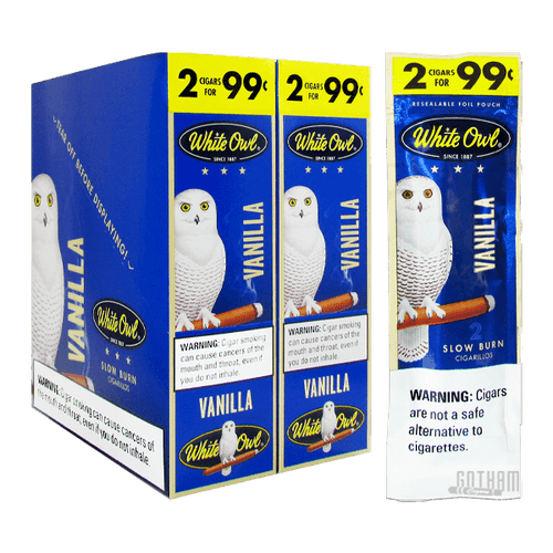 White Owl Cigarillos Vanilla