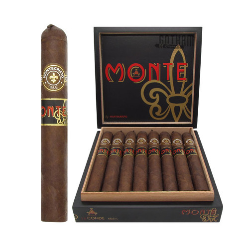 Monte by Montecristo Conde (Pig Tail) Open Box and Stick