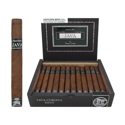 Java Mint Corona Open Box and Stick