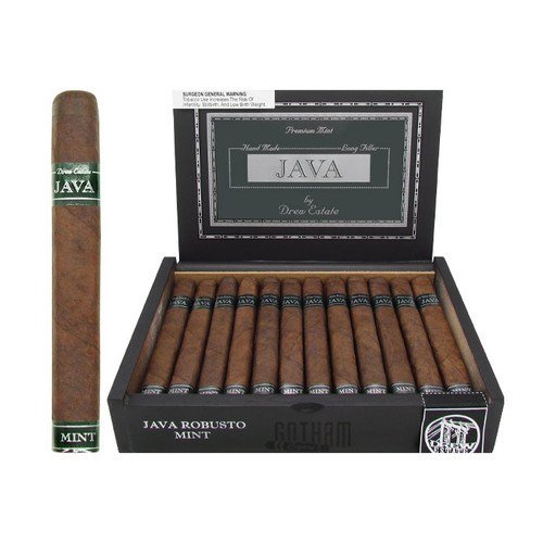 Java Mint Robusto Open Box and Stick