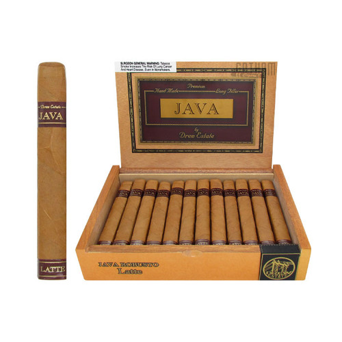 Java Latte Robusto Open Box and Stick
