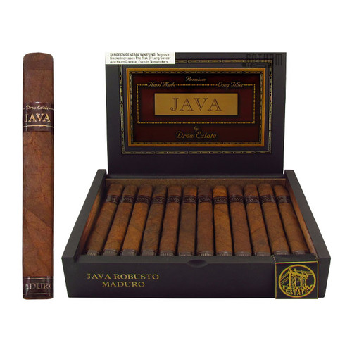 Java Maduro Robusto Open Box and Stick
