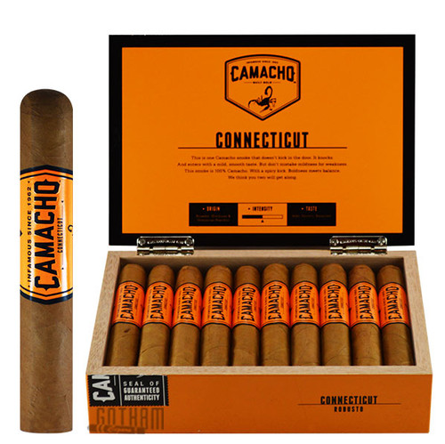 Camacho Connecticut Robusto Box & Stick