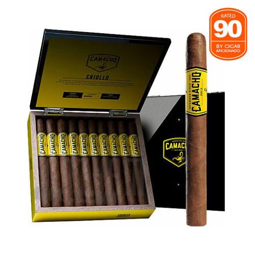 Camacho Criollo Churchill Box & Stick