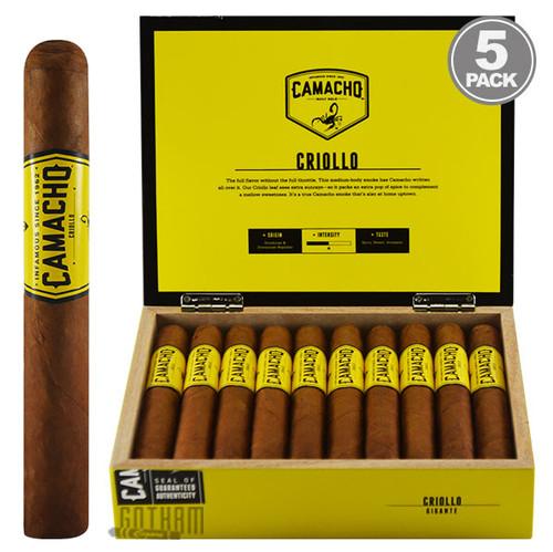 Camacho Criollo Gigante Box & 5PACK