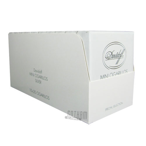 Davidoff Mini Cigarillos Silver Box