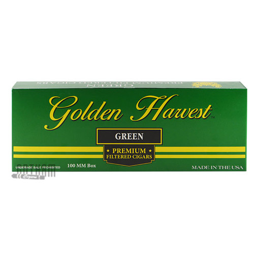 Golden Harvest Filtered Cigars Menthol Carton