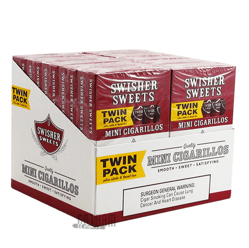 Swisher Sweets Mini Cigarillos Twin Pack Box