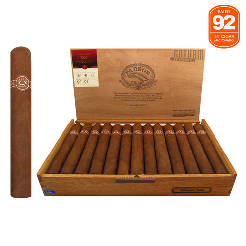 Padron 7000 Natural Open Box and Stick