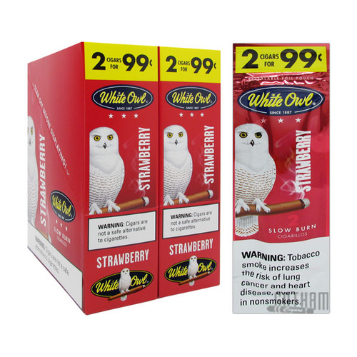 White Owl Cigarillos Strawberry