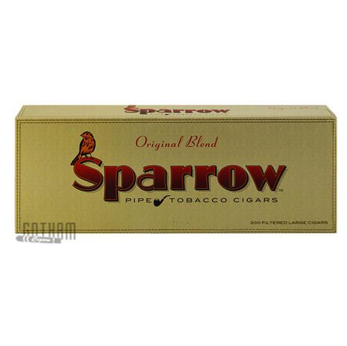 Sparrow Filtered Large Cigars Original carton