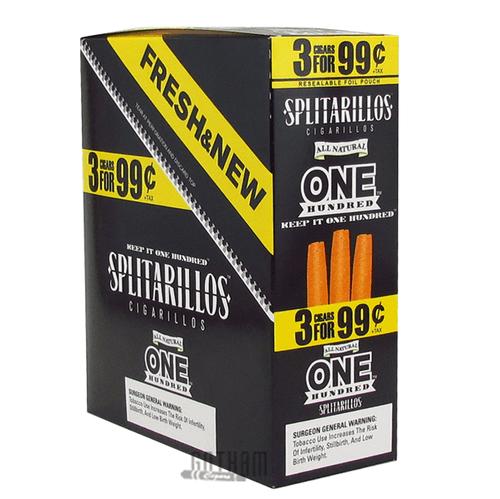 Splitarillos One Hundred Cigarillos 3 for 0.99 Box