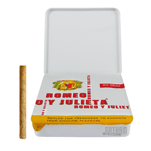 Romeo y Julieta 1875 Mini White Open Box