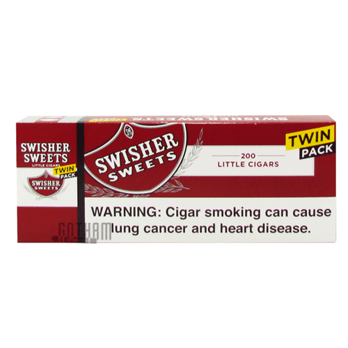 Swisher Sweets Little Cigars Regular Twin Pack Box