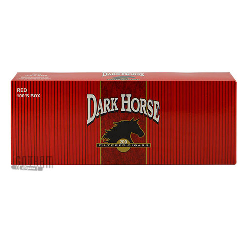 Dark Horse Filtered Cigars Full Flavor carton & pack