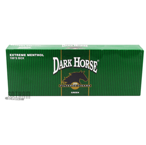 Dark Horse Filtered Cigars Extreme Menthol Box