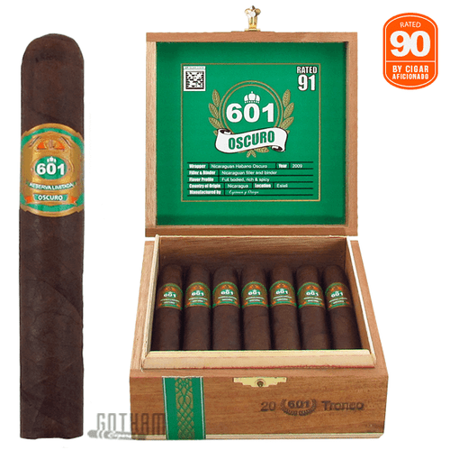 601 Green Label Oscuro Tronco Box and Stick