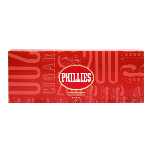 Phillies Filtered Cigars Sweet Box