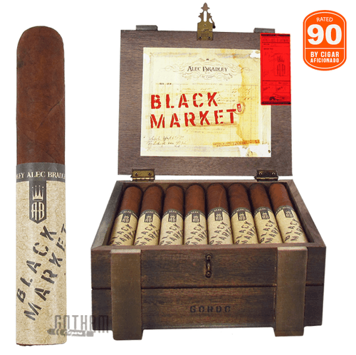 Alec Bradley Black Market Gordo  Box and Stick