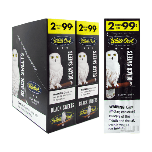 White Owl Cigarillos Black