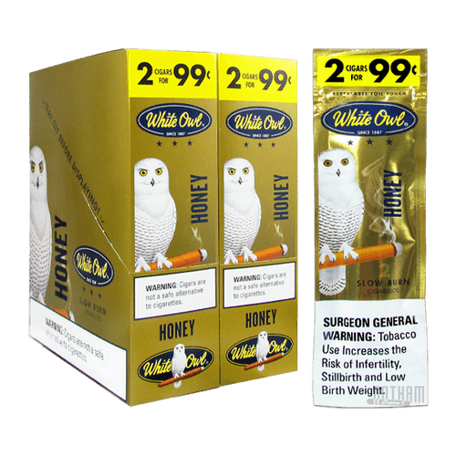 White Owl Cigarillos Gold