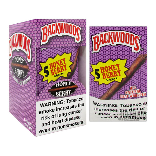 Backwoods Cigars Honey Berry Box and Foil Pack