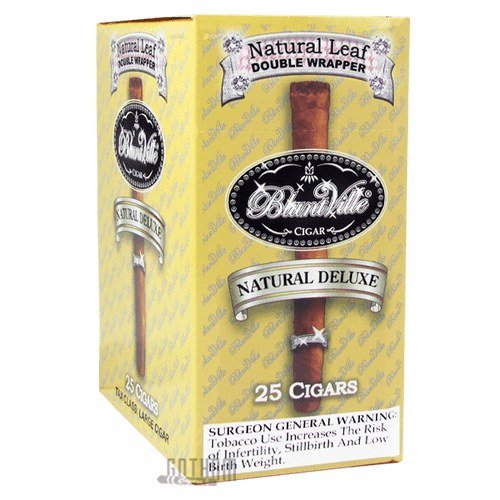 Bluntville Cigars Natural Deluxe Box