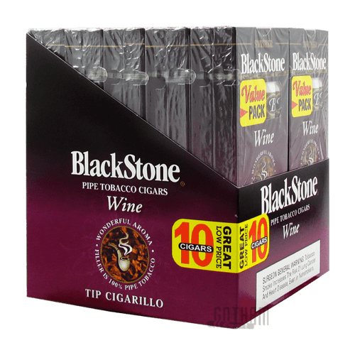 Blackstone Tip Cigarillo Wine Box