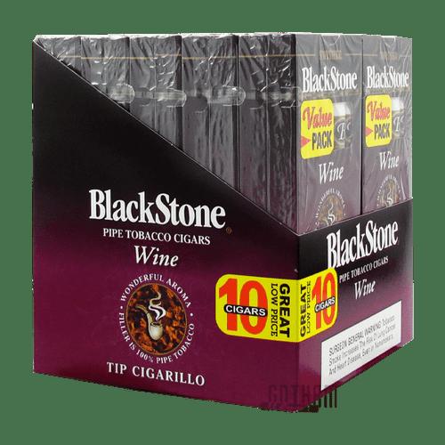 Blackstone Tip Cigarillo Wine Box