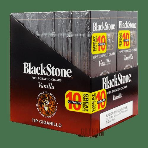 Blackstone Tip Cigarillo Vanilla Box