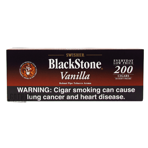Blackstone Filtered Cigars Vanilla Carton