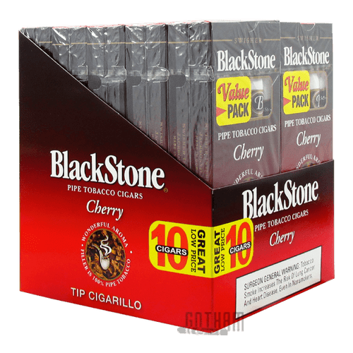 Blackstone Tip Cigarillo Cherry Box