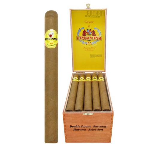 Baccarat Double Corona Open Box and Stick