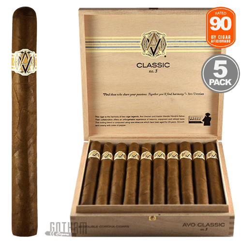 AVO No. 3 Open Box & 5 Pack Rated 90