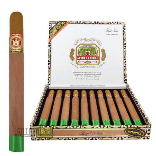 Arturo Fuente Royal Salute Box & Stick