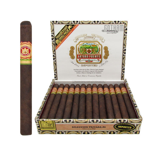 Arturo Fuente Seleccion Privada No.1 Maduro Open Box and Stick