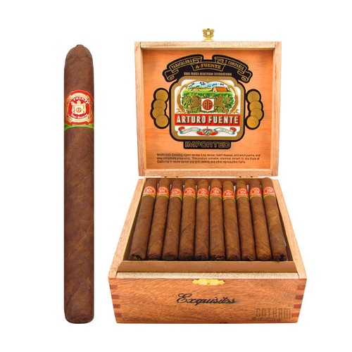 Arturo Fuente Exquisito Open Box and Stick