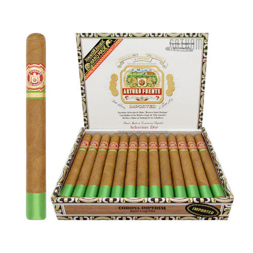 Arturo Fuente Seleccion D'Oro Corona Imperial Open Box and Stick