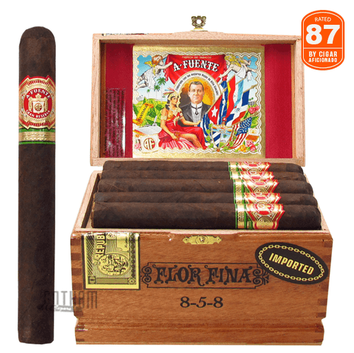 Arturo Fuente Flor Fina 858 Maduro Box and Stick