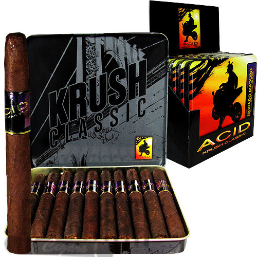 Acid Krush Morado Maduro Tin box & stick